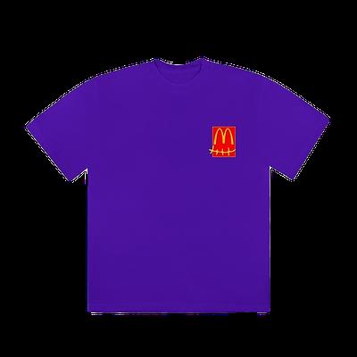 Travis Scott X McDonalds Action Figure Tshirt