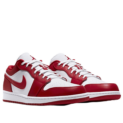 nike jordan 1 low red white