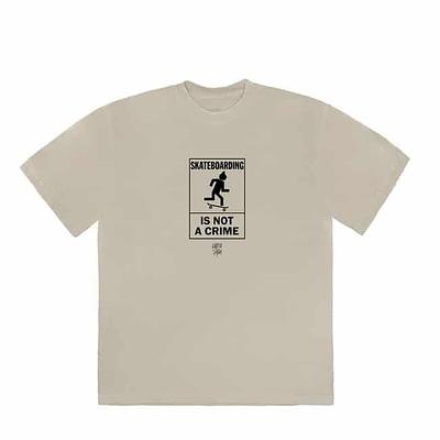 Travis Scott Cactus Jack Not A Crime Tshirt Size Xlarge