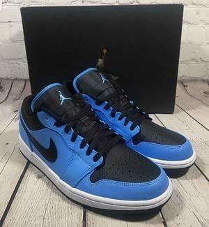 Nike Jordan 1 Low University Blue 1
