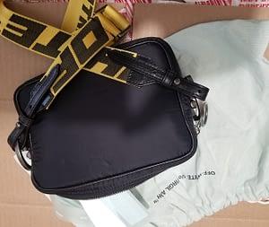 Off-White Crossbody Bag Black color Virgil Abloh
