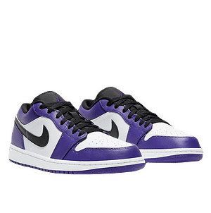 jordan 1 low purple white