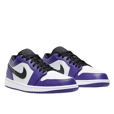 jordan 1 low purple white
