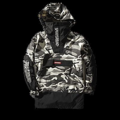Sprayground Pullover Camo Jacket