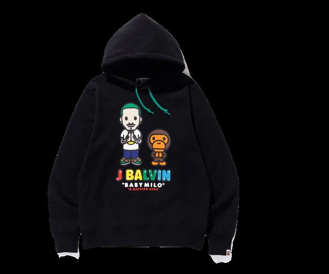 Bape X J Balvin Hoodie