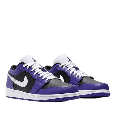 nike jordan 1 low purple black