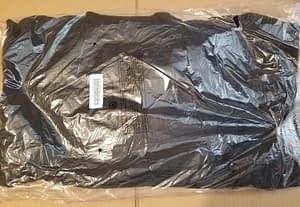 Supreme Hoodie Black/White Color Size Large
