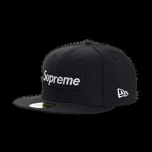 Supreme Box Logo World Famous New Era Baseball Hat Size 7 1/2