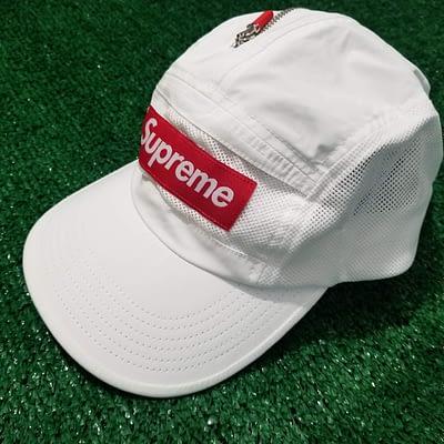 Supreme White Adjustable Hat