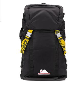 OffWhite Backpack Black Color Virgil Abloh NWT