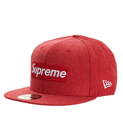 supreme world famous hat red