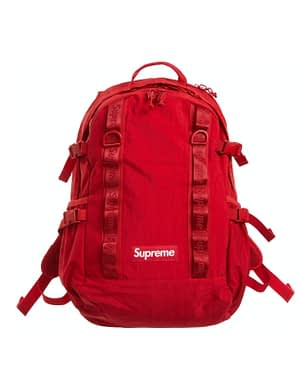 Supreme Backpack Red Color New Design Great Details 100 % Authentic With Receipt