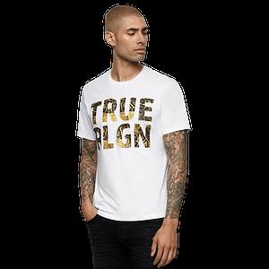 true religion tiger print tshirt