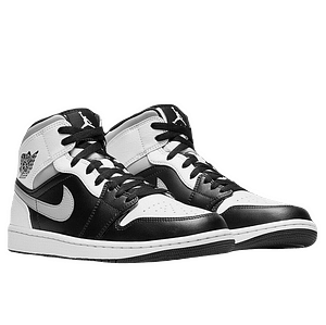 nike jordan 1 mid white shadow